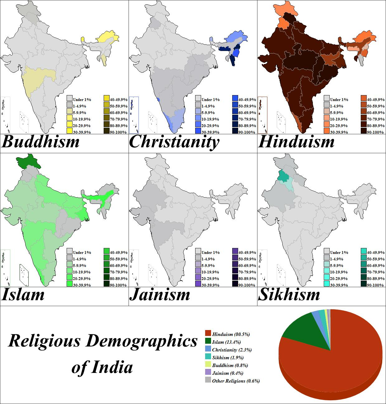 Religion Map Of South Asia.India Religion Map Map Of India Religion Southern Asia Asia