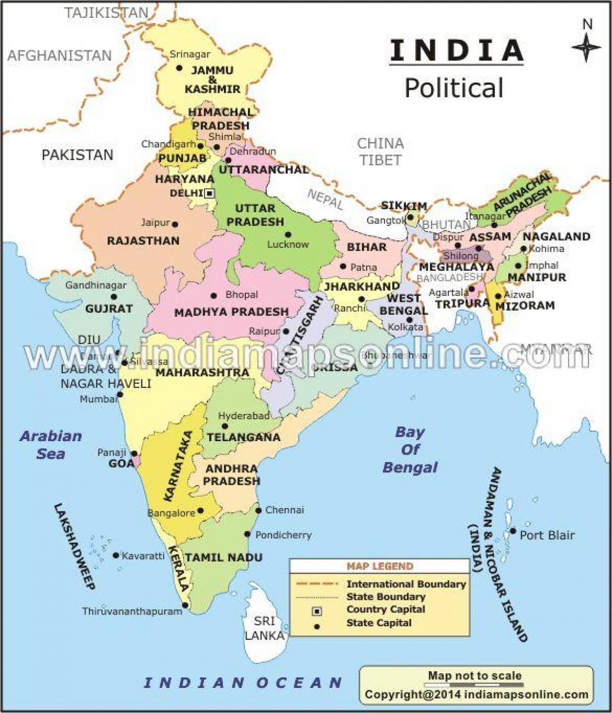 India map with states capitals and union territories - Map of India on states and their capitals, india pondicherry beaches, south us region states and capitals, india south asia landforms map, europe map with capitals, india and south asia physical map, india and surrounding country map, south east asia map countries and capitals, india and myanmar, united states political map with capitals, latest india map state capitals, map of the states and capitals, blank canada map with provinces and capitals, india and weapons of mass destruction, india under british rule map, map of 50 states and capitals, political map states and capitals, map of nigeria showing 36 states and capitals, asia map with country names and capitals,