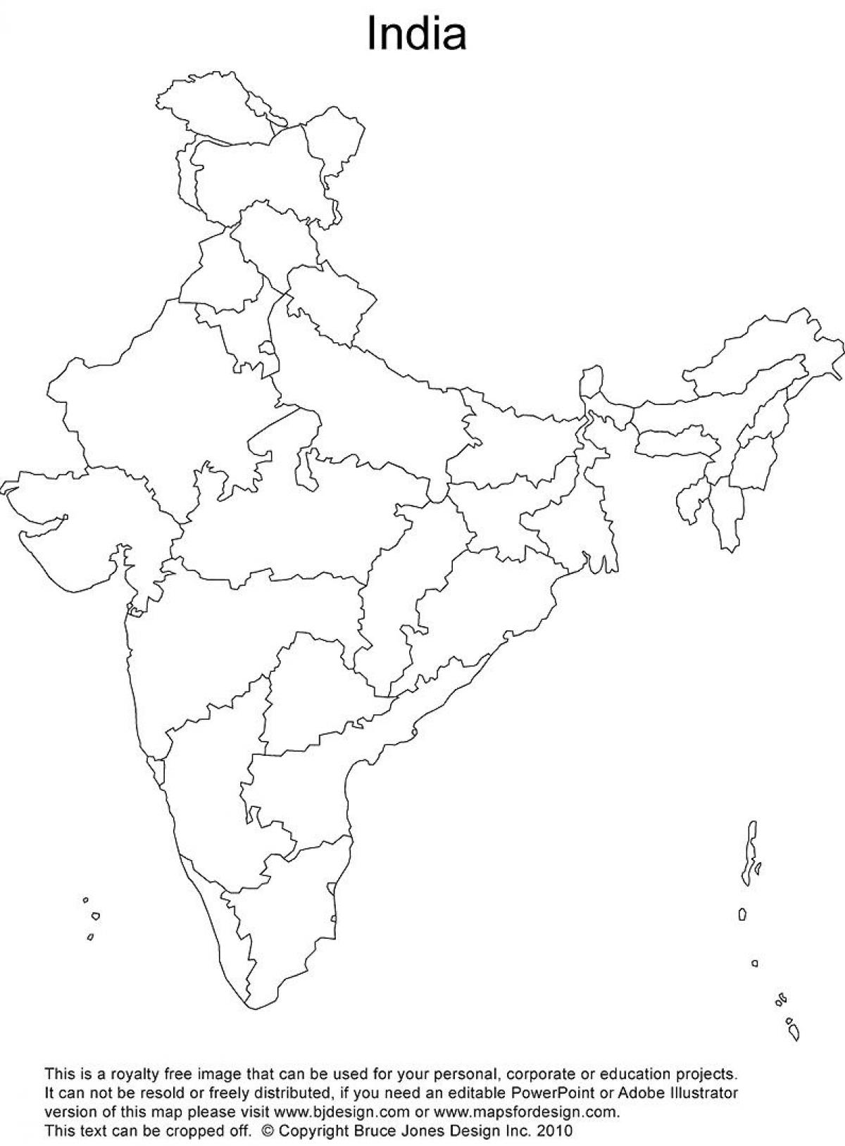 Printable outline map of india india outline map printable india outline map printable sciox Choice Image