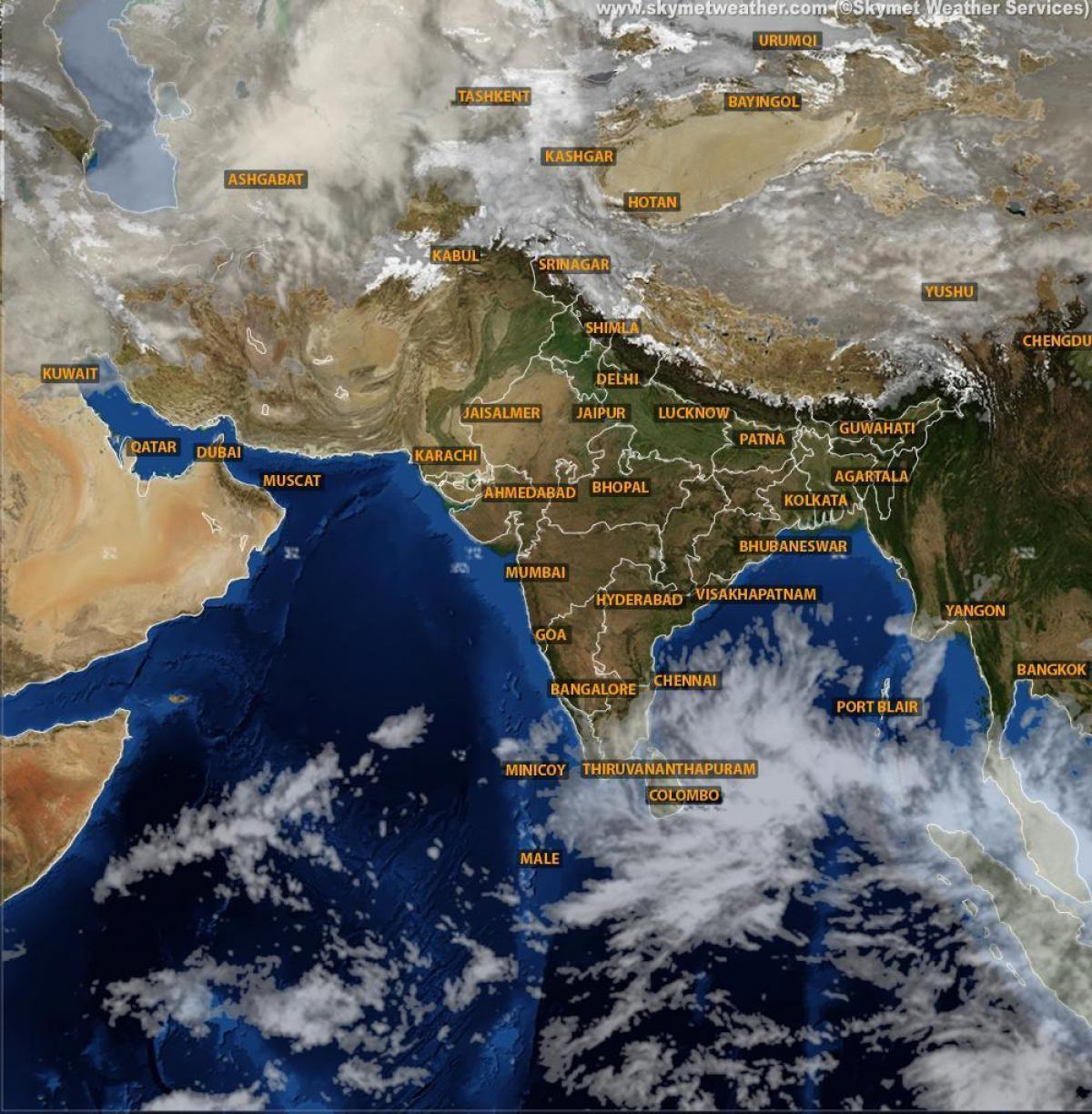 Weather Map India Satellite Weather map India satellite live   India weather map satellite