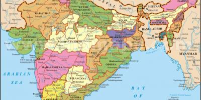 Image of India map