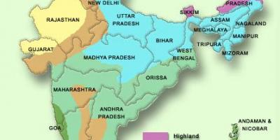 Weather India map