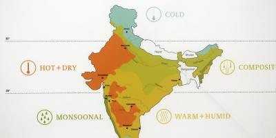 Weather map India